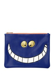 Essentiel Cheshire Cat Faux Leather Pouch