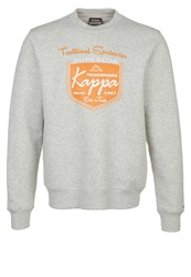 Kappa Vasco Sweatshirt Grey Mottled Grey