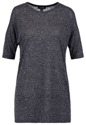 New Look Cold Print Tshirt Dark Grey