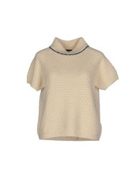 French Connection Turtlenecks Ivory