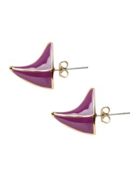Dominic Jones Earrings Purple