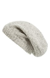 Sole Society Women's Wool Knit Beanie Grey