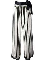 Jean Paul Gaultier Vault Palazzo Trouser White