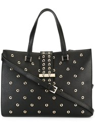 Red Valentino Double Handle Tote Black