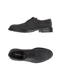 John Bakery Lace Up Shoes Dark Blue