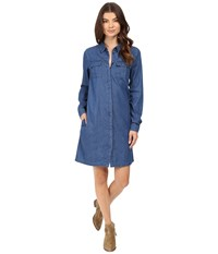 Bench Ingenuity Denim Dress Mid Rinse Women's Dress Blue