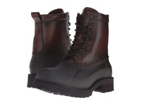 Frye Alaska Lace Up Whiskey Multi Wp Smooth Pull Up Men's Lace Up Boots Brown