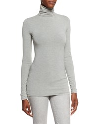 Ralph Lauren Black Label Callie Turtleneck Top Medium Gray Women's