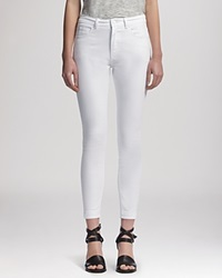 Whistles Jeans Ankle Length Skinny In White