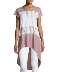 Neiman Marcus Tie Dye High Low Tee Sandy Beach