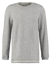 Revolution Sweatshirt Grey Mottled Grey