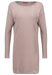 Edc By Esprit Jumper Dress Beige