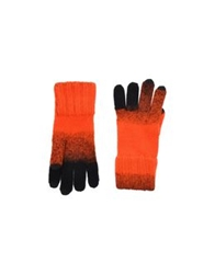 Y 3 Gloves Orange