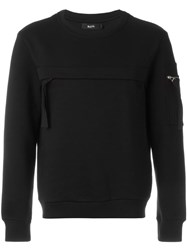 Blood Brother Zipped Pocket Sweatshirt Black