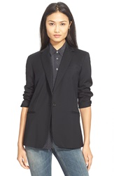 Equipment 'Jay' Wool Blazer Black