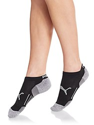 Puma Ankle Socks 3 Pack Black Grey
