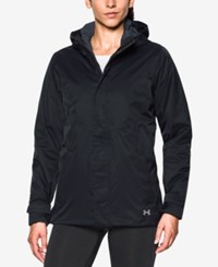 Under Armour Coldgear Infrared 3 In 1 Wayside Jacket Black Stealth Grey