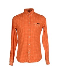 Rare Ra Re Shirts Shirts Men Orange