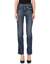 Roccobarocco Denim Denim Trousers Women Blue