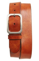 Magnanni Men's Big And Tall Guodi Leather Belt Cognac