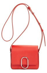 3.1 Phillip Lim 'Mini Alix' Leather Shoulder Bag Red Cherry