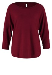S.Oliver Denim Jumper Red