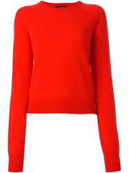 Equipment Cashmere Jumper Red