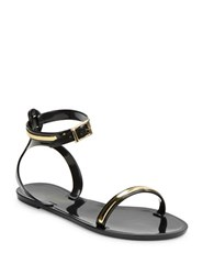 Rachel Zoe Alicia T Back Sandals Black