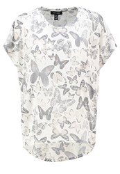 New Look Print Tshirt White Pattern