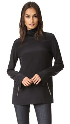 Nina Ricci Silk Blouse Black