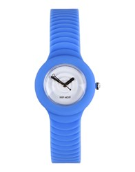 Hip Hop Timepieces Wrist Watches Women Blue