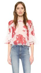 Alice Mccall Lover To Lover Top Berry Rose