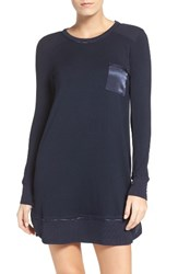 Midnight By Carole Hochman Women's Crewneck Sleep Shirt Midnight