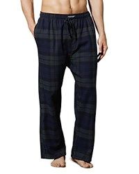 Ralph Lauren Plaid Flannel Pajama Pants Blackwatch