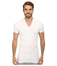 2Xist Form S S V Neck T Shirt White Men's T Shirt