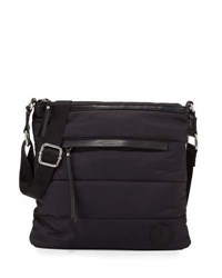 French Connection Gia Nylon Crossbody Bag Black