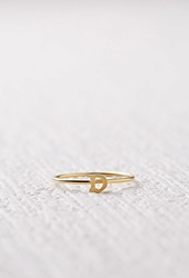 Forever 21 Cool And Interesting D Initial Ring Gold