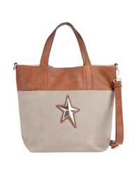 Thierry Mugler Large Fabric Bags Brown