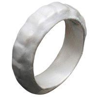 Chen Fuchs Jewelry Chunky Silver Stacking Ring