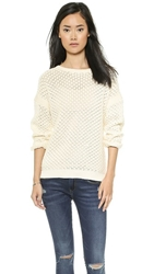 Candela Bonita Sweater Off White