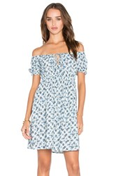 Motel Langley Dress Blue
