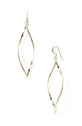Argentovivo 'Marquise' Earrings Gold Vermeil High Polish
