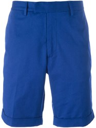 Moncler Classic Chino Shorts Blue