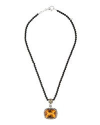 Roberto Coin Colored Dreams 18K Quartz And Spinel Pendant Necklace Women's