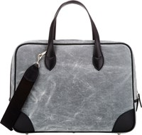Barneys New York Large Briefcase Black