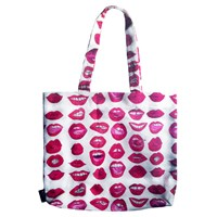 Kahri Sexy Red Lips Tote Bag Multi
