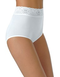 Bali Lacy Skamp Brief White