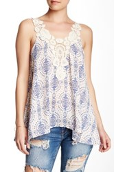 Love On A Hanger Crochet Boho Tank White
