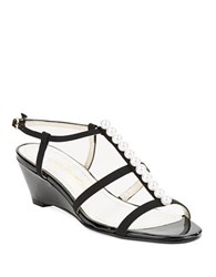 Caparros Sullivan Wedge Sandals Black