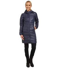 Columbia Flash Forward Long Down Jacket Nocturnal Women's Coat Black